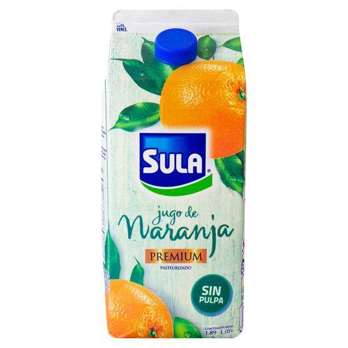 Jugo Sula Premium Sin Pulpa 1890Ml