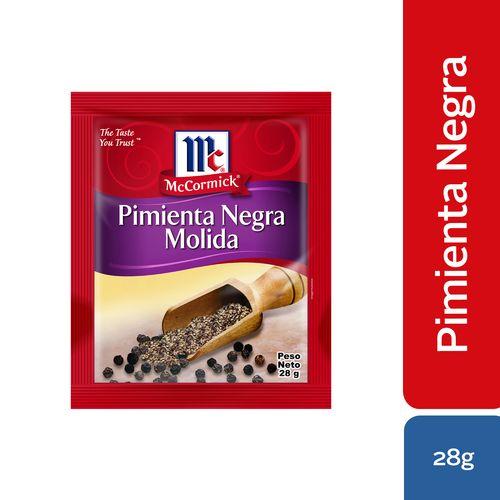 Pimienta Negrra Molida Mccormick Refill Pack - 28Gr
