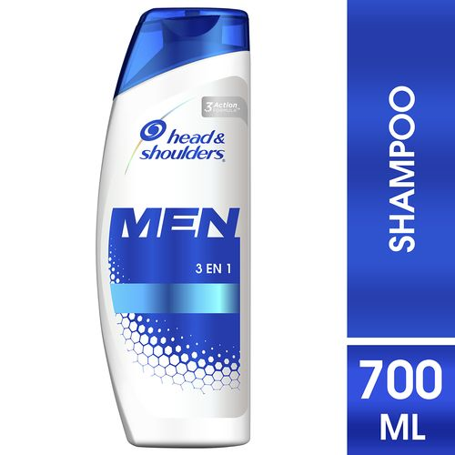 Shampoo Head & Shoulders 3En1 Men - 700Ml
