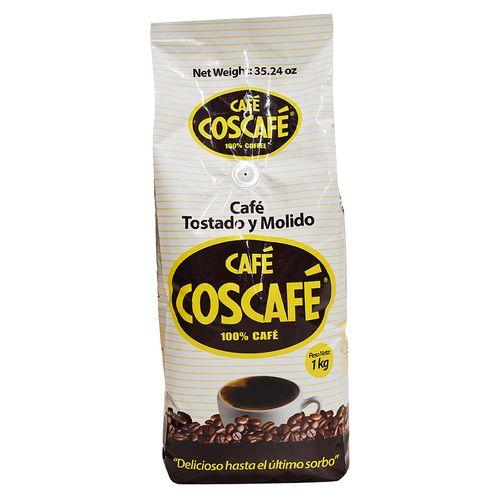 Cafe Coscafe Tostado Y Molido 1000Gr