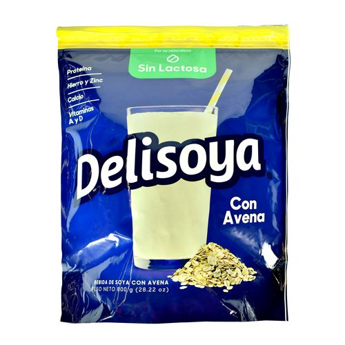 Bebida Delisoya De Soya Avena - 800Gr