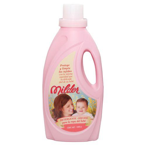 Detergente Liquido Milder Para Bebe - 1000Ml
