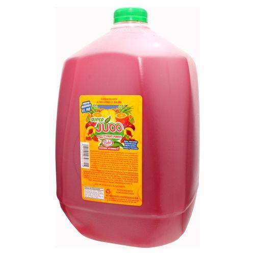 Bebida Super Juoo Fruit Punch - 3785Ml