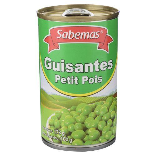 Guisantes Sabemas Petit Pois - 173gr