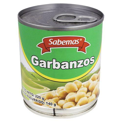 Garbanzos Sabemas En Lata - 140gr