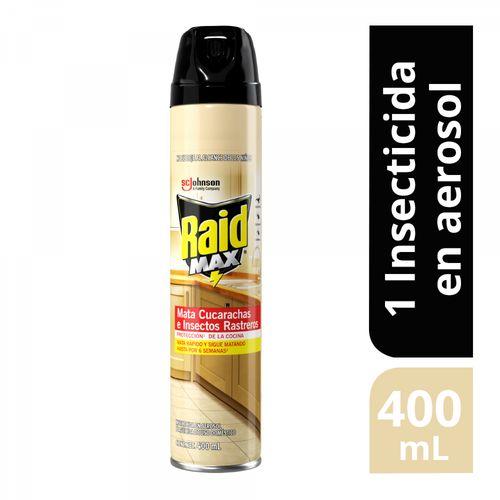 Insecticida En Aerosol Mata Moscas Y Mosquitos Raid®®  400 Ml