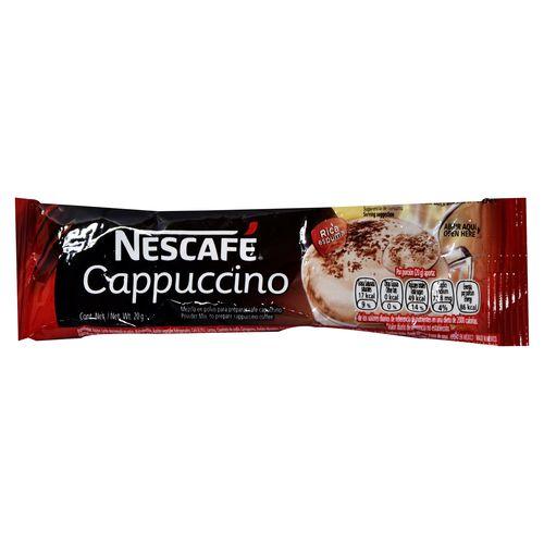 Cafe Nescafe Cappucino Original - 20Gr