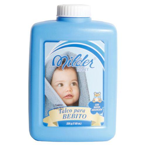 Talco Milder Baby Celeste - 225Gr