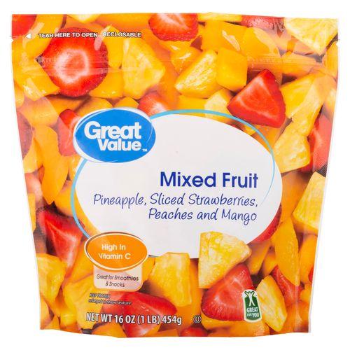 Fruta Mixta Great Value Congelada - 454gr
