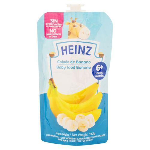 Colado Heinz Banano Doy Pack - 113gr