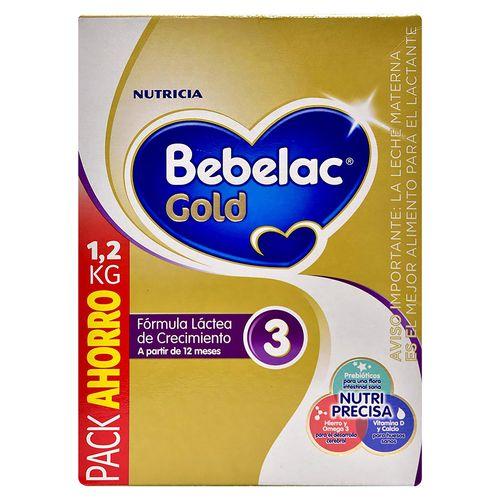 Formula Infantil Bebelac Gold 3  1200Gr