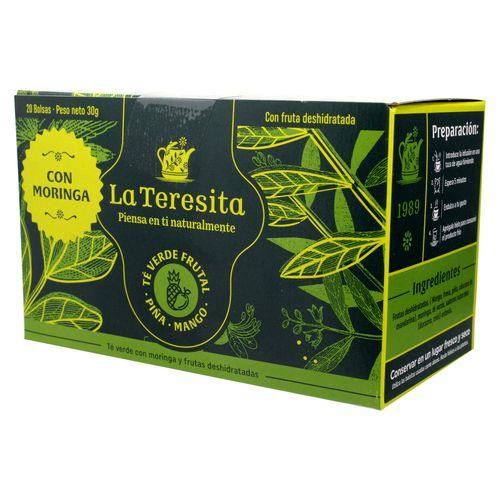 Té La Teresita Verde Frutal X20