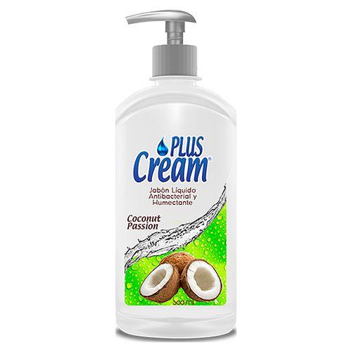 Jabon Liquido Plus Cream Coconut P - 500ml