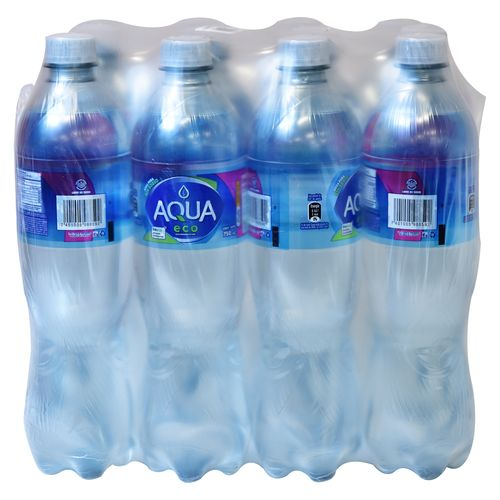 Agua Aqua Pura 12 Pack 750 Ml