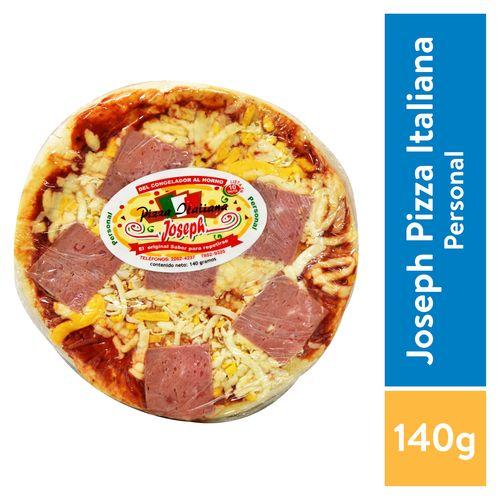 Pizza Joseph Personal Jamon - 140Gr