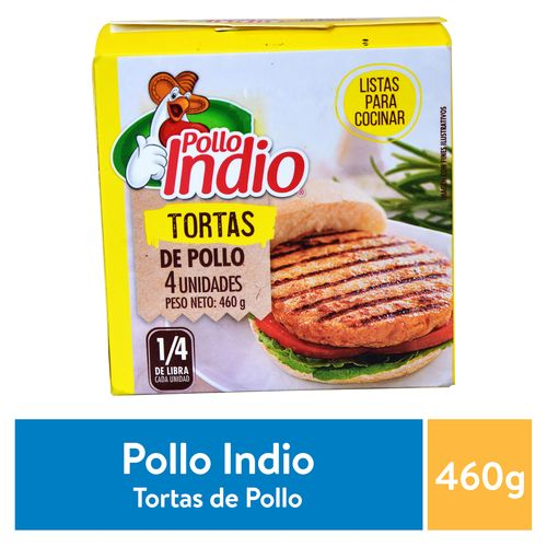 Torta Pollo Indio Congelada - 460Gr