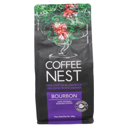 Cafe Coffee Nest Bourbon Molido - 340Gr