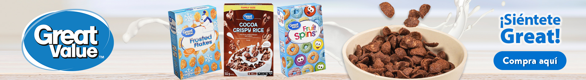 Cereal Great Value